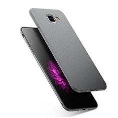 Coque Ultra Fine Silicone Souple S02 pour Samsung Galaxy A7 (2016) A7100 Gris