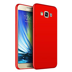 Coque Ultra Fine Silicone Souple S02 pour Samsung Galaxy A7 Duos SM-A700F A700FD Rouge