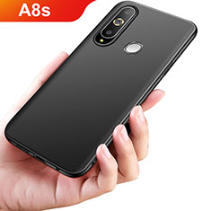 Coque Ultra Fine Silicone Souple S02 pour Samsung Galaxy A8s SM-G8870 Noir