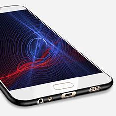 Coque Ultra Fine Silicone Souple S02 pour Samsung Galaxy C7 Pro C7010 Noir