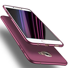 Coque Ultra Fine Silicone Souple S02 pour Samsung Galaxy C7 SM-C7000 Violet