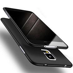 Coque Ultra Fine Silicone Souple S02 pour Samsung Galaxy S5 Duos Plus Noir