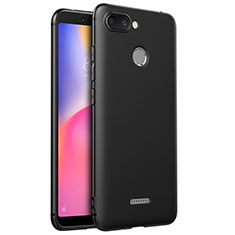 Coque Ultra Fine Silicone Souple S02 pour Xiaomi Redmi 6 Noir
