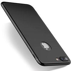 Coque Ultra Fine Silicone Souple S03 pour Apple iPhone 7 Plus Noir