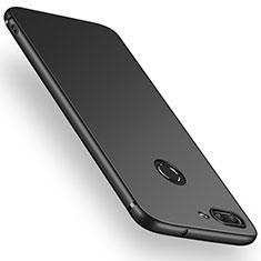 Coque Ultra Fine Silicone Souple S03 pour Huawei Enjoy 7S Noir