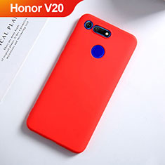 Coque Ultra Fine Silicone Souple S03 pour Huawei Honor View 20 Rouge