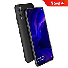 Coque Ultra Fine Silicone Souple S03 pour Huawei Nova 4 Noir