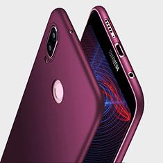 Coque Ultra Fine Silicone Souple S03 pour Huawei P20 Lite Violet