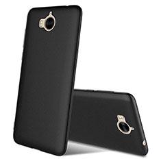 Coque Ultra Fine Silicone Souple S03 pour Huawei Y5 III Y5 3 Noir