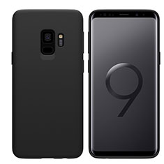 Coque Ultra Fine Silicone Souple S03 pour Samsung Galaxy S9 Noir