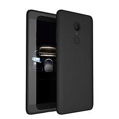 Coque Ultra Fine Silicone Souple S03 pour Xiaomi Redmi Note 4X High Edition Noir