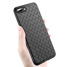 Coque Ultra Fine Silicone Souple S04 pour Apple iPhone 7 Plus Noir