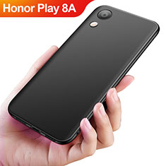 Coque Ultra Fine Silicone Souple S04 pour Huawei Honor Play 8A Noir