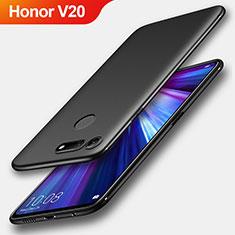 Coque Ultra Fine Silicone Souple S04 pour Huawei Honor View 20 Noir