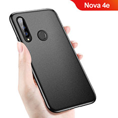 Coque Ultra Fine Silicone Souple S04 pour Huawei Nova 4e Noir