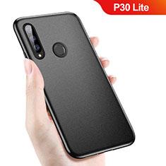 Coque Ultra Fine Silicone Souple S04 pour Huawei P30 Lite Noir