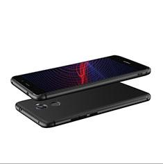 Coque Ultra Fine Silicone Souple S04 pour Huawei Y7 Prime Noir