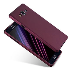 Coque Ultra Fine Silicone Souple S04 pour Samsung Galaxy A7 SM-A700 Violet