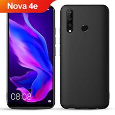 Coque Ultra Fine Silicone Souple S05 pour Huawei Nova 4e Noir