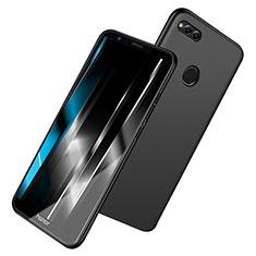 Coque Ultra Fine Silicone Souple S06 pour Huawei Honor 7X Noir
