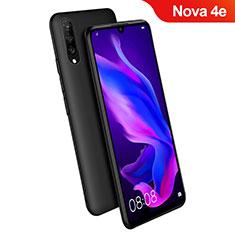 Coque Ultra Fine Silicone Souple S06 pour Huawei Nova 4e Noir