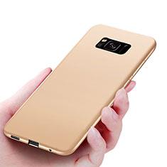 Coque Ultra Fine Silicone Souple S06 pour Samsung Galaxy S8 Or