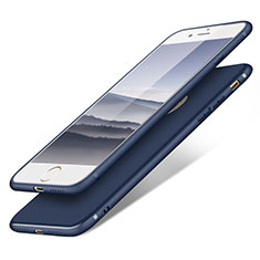 Coque Ultra Fine Silicone Souple S09 pour Apple iPhone 8 Bleu