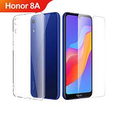 Coque Ultra Fine Silicone Souple Transparente et Protecteur d'Ecran pour Huawei Honor 8A Clair