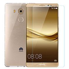 Coque Ultra Fine Silicone Souple Transparente et Protecteur d'Ecran pour Huawei Mate 8 Clair