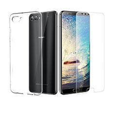 Coque Ultra Fine Silicone Souple Transparente et Protecteur d'Ecran pour Huawei Nova 2S Clair