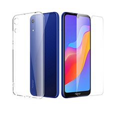 Coque Ultra Fine Silicone Souple Transparente et Protecteur d'Ecran pour Huawei Y6 (2019) Clair