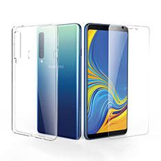 Coque Ultra Fine Silicone Souple Transparente et Protecteur d'Ecran pour Samsung Galaxy A9s Clair