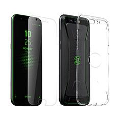 Coque Ultra Fine Silicone Souple Transparente et Protecteur d'Ecran pour Xiaomi Black Shark Clair