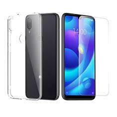 Coque Ultra Fine Silicone Souple Transparente et Protecteur d'Ecran pour Xiaomi Mi Play 4G Clair
