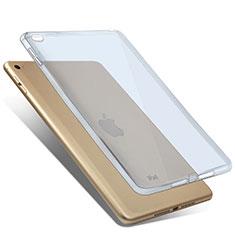 Coque Ultra Fine Silicone Souple Transparente pour Apple iPad Mini 4 Bleu