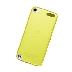 Coque Ultra Fine Silicone Souple Transparente pour Apple iPod Touch 5 Jaune
