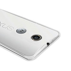 Coque Ultra Fine Silicone Souple Transparente pour Google Nexus 6 Clair