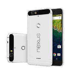 Coque Ultra Fine Silicone Souple Transparente pour Google Nexus 6P Clair