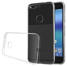 Coque Ultra Fine Silicone Souple Transparente pour Google Pixel Clair