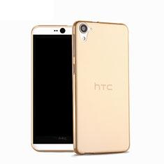 Coque Ultra Fine Silicone Souple Transparente pour HTC Desire 826 826T 826W Or