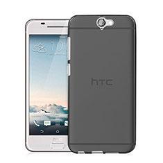 Coque Ultra Fine Silicone Souple Transparente pour HTC One A9 Gris
