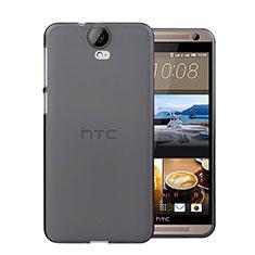 Coque Ultra Fine Silicone Souple Transparente pour HTC One E9 Plus Gris