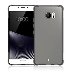 Coque Ultra Fine Silicone Souple Transparente pour HTC U Ultra Gris