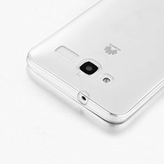 Coque Ultra Fine Silicone Souple Transparente pour Huawei Ascend GX1 Clair