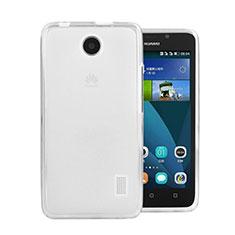 Coque Ultra Fine Silicone Souple Transparente pour Huawei Ascend Y635 Blanc