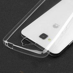 Coque Ultra Fine Silicone Souple Transparente pour Huawei Enjoy 5 Clair