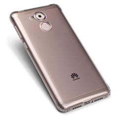 Coque Ultra Fine Silicone Souple Transparente pour Huawei Enjoy 6S Gris