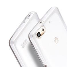 Coque Ultra Fine Silicone Souple Transparente pour Huawei G Play Mini Clair