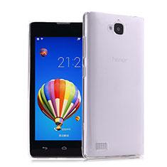 Coque Ultra Fine Silicone Souple Transparente pour Huawei Honor 3C Clair