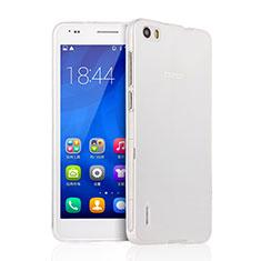 Coque Ultra Fine Silicone Souple Transparente pour Huawei Honor 6 Clair